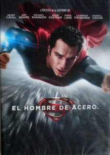 El Hombre De Acero - Diane Lane - Dvd - Original!!
