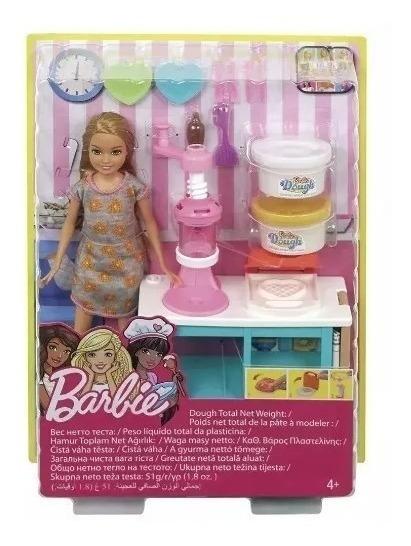 Barbie Boneca Stacie Estação De Doces+brinde
