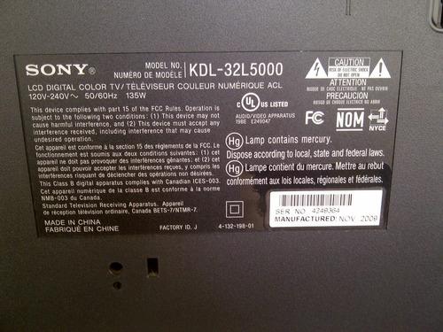 Televisor Sony 32 Pulgadas Usado Con Detalle En La Pantalla