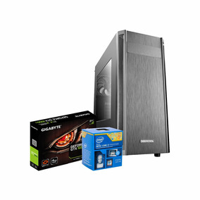 Pc Intel I7 3.9 Ghz,16gb, Ssd 240gb, 4gb 1050 Gtx Ti, Dvd-rw