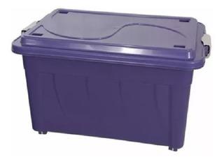 Caixas Plástica Organizadora 70l ( 02 Peças ) Cod. 904