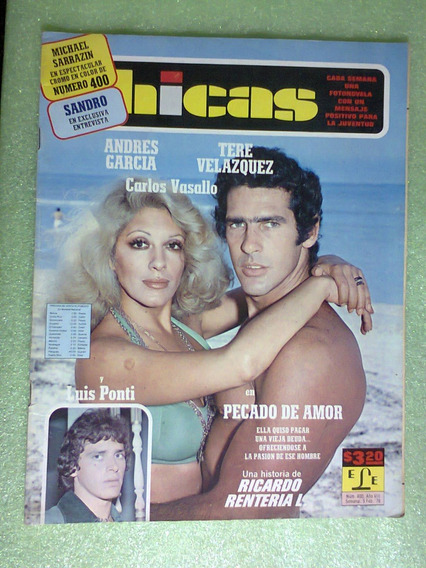 Fotonovela Andres García Tere Velázquez Sandro México 1976