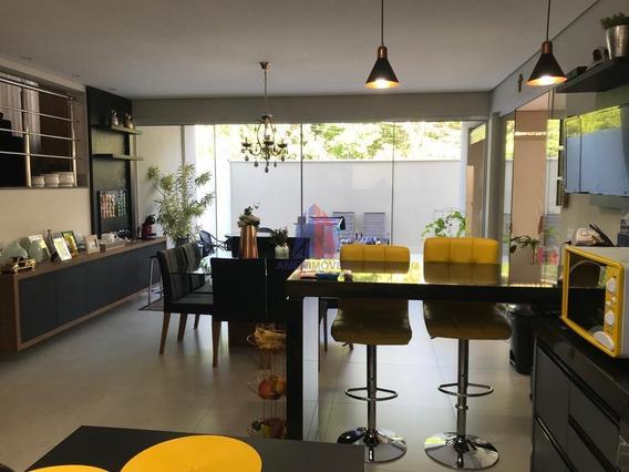 Sobrado Com 3 Dormitórios À Venda, 310 M² Por R$ 1.595.000 - Condomínio Primavera - Jardim Primavera - Nova Odessa/sp - So0188