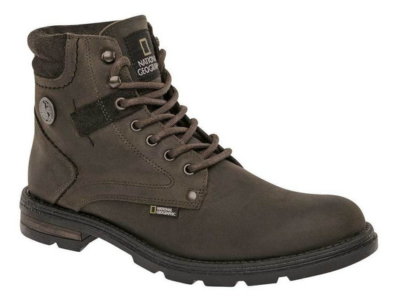 Bota Y Botin National Geographic 04101-02 Color Olivo Hombre