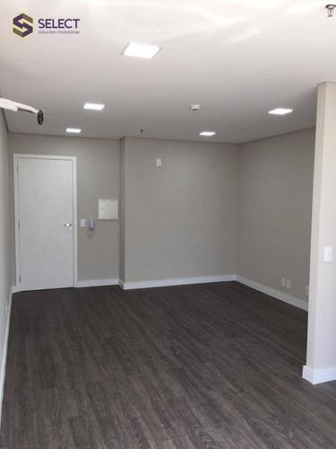Sala, 28 M² - Venda Por R$ 214.000,00 Ou Aluguel Por R$ 1.360,00/mês - Baeta Neves - São Bernardo Do Campo/sp - Sa0047