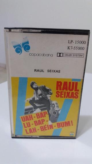 Fita K7 Raul Seixas - Uah Bap Lu Bap Lá Béin Bum- 1987