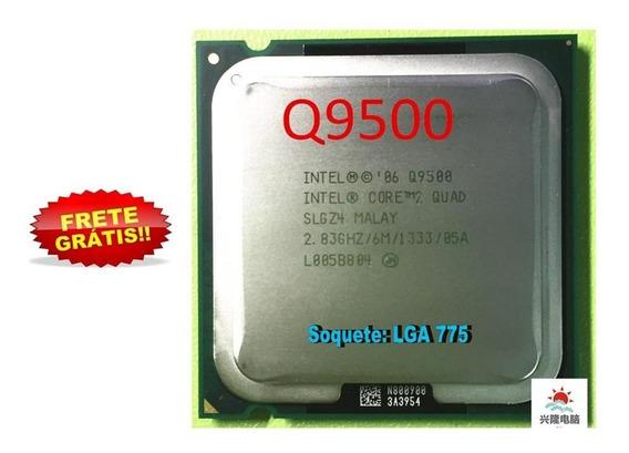 Processador Intel Core 2 Quad Q9500- 2.83 -soquete 775