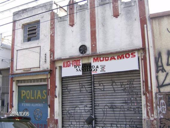 Galpão / Terreno 175m² Comercial À Venda, Mooca, São Paulo. - Ga0002