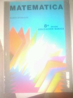 Libro De Matematica 8 Ramon Rodriguez