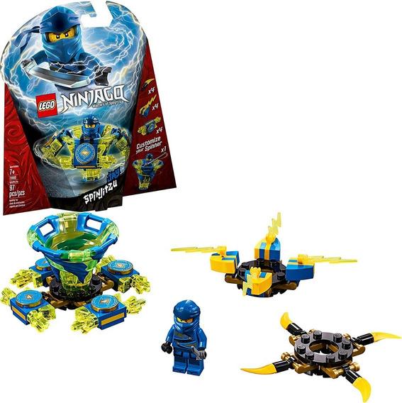 Lego Ninjago Masters Of Spinjitzu Jay 97 Pcs 70660 Om1