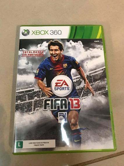 Jogo Fifa 2013 Usado Xbox 360 Mídia Física Original