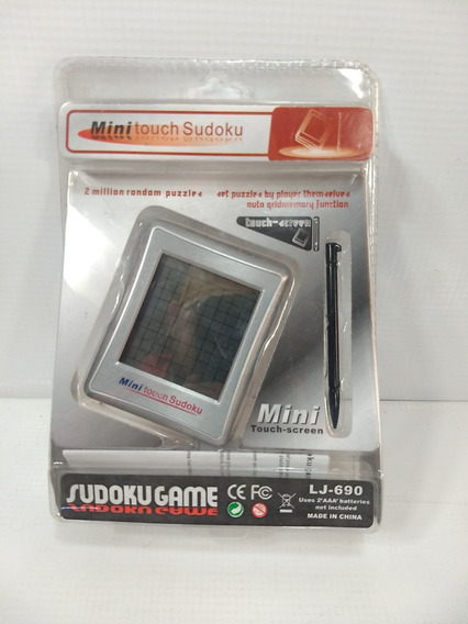 Mini Touch Sudoku Retro Game Video Puzzle Novo Caixa Lacrado