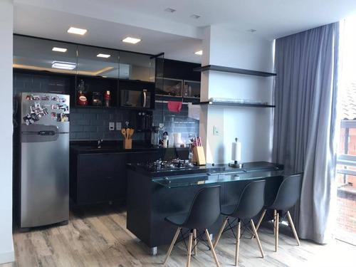 Imagem 1 de 8 de Flat Com 1 Dormitório À Venda, 44 M² Por R$ 270.000,00 - Glória - Macaé/rj - Fl0004