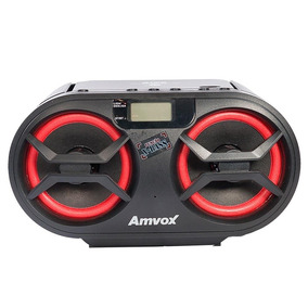 Rádio Amvox Amc-595 Cd,usb, Aux Bluetooth,fm,15w Rms
