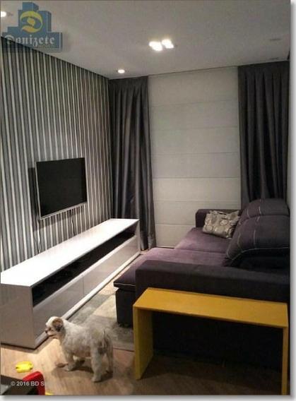 Apartamento Com 2 Dormitórios À Venda, 85 M² Por R$ 640.000,00 - Jardim - Santo André/sp - Ap5809