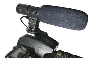 Microfono Estereo Para Camara Dslr / Reflex Entrevistas Grab