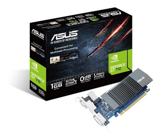 Placa Video Asus Geforce Gt 710 1gb Gddr5 Hdmi Vga Dvi