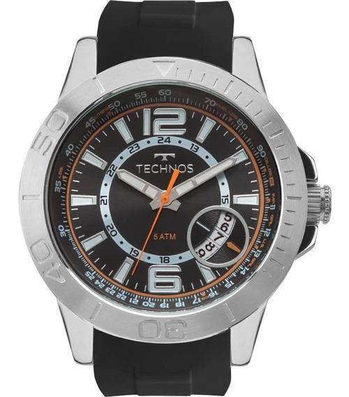 Relógio Technos Masculino Racer 2315kzn/8p Aço Analogico