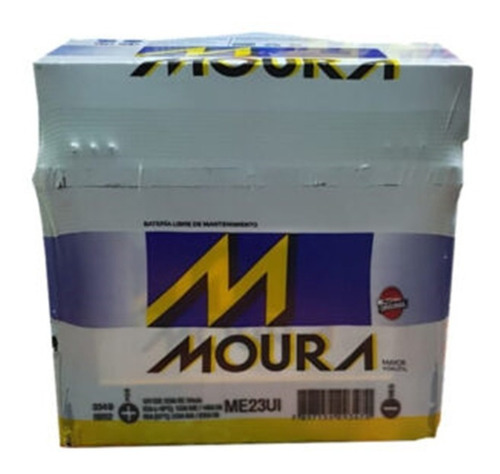 Bateria Moura Me23ui Tractorcito Corta Cesped Minitractor