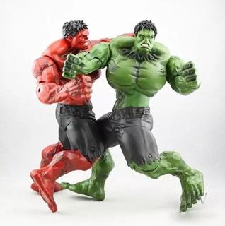 Muñeco Increíble Hulk Red Hulk Rojo Rulk 25 Cm Articulados