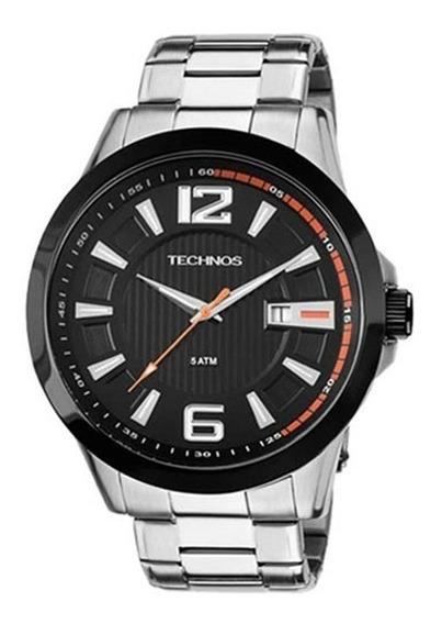 Relógio Technos Masculino Aço 2115knv/1p Com Nf