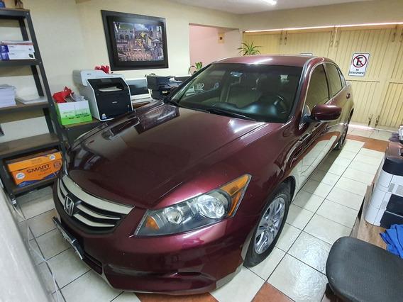 Honda Accord 2.4 Lx Sedan L4 Tela Mt 2012