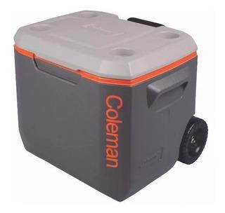Caixa Térmica Cooler Com Rodas Xtreme 50qt Coleman 47,3 L