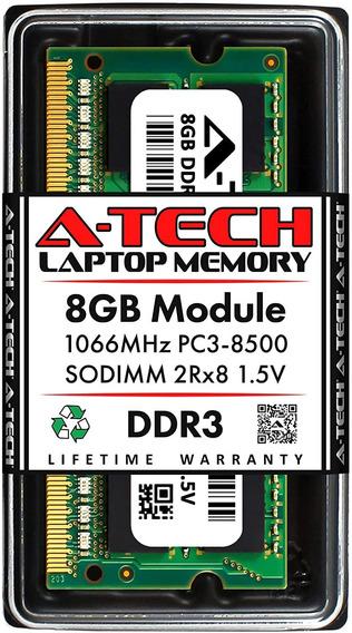 Memoria 8gb 1066mhz Ddr3 Notebook Macbook Mac Pc3-8500