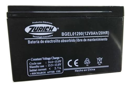 Bateria Para Ups Y Otros Usos 12v 9,0 Amper Zurich