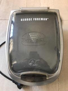 Grill Parrilla Eléctrica George Foreman Calentador Pan