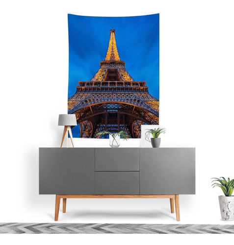Tecido Decorativo Decoração Tactel Interto Externo Eiffel