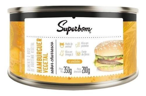 Imagem 1 de 1 de Hamburguer Vegano 350g - Superbom
