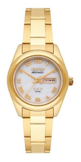 Relógio Orient Feminino Automático 559gp009 B3kx Dourado