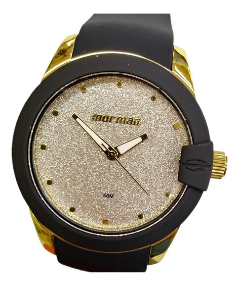 Relógio Mormaii Mo2035cu/8p Mo2035cu 8p Silicone Mopc21jah