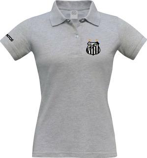 Camisa Feminina Santos Polo, Blusa Torcedora Santista