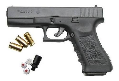 Imagen 1 de 4 de Pistola De Fogueo Bruni Modelo Gap 9 Mm