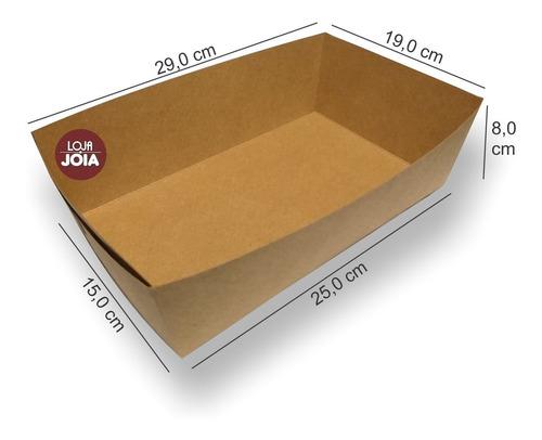Cesta Para Pascoa  Papel Kraft Kit Com 15 Unidades Loja-joia