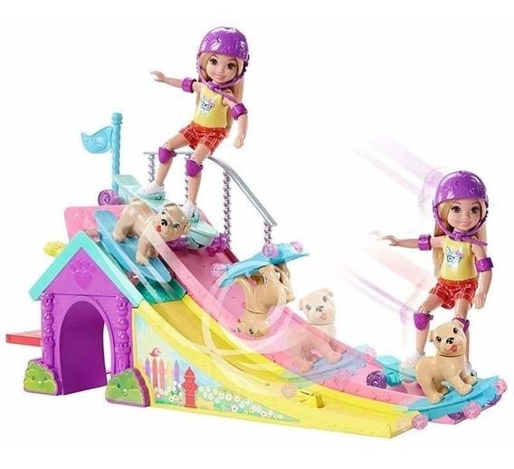 Barbie Club Chelsea Pista De Skate