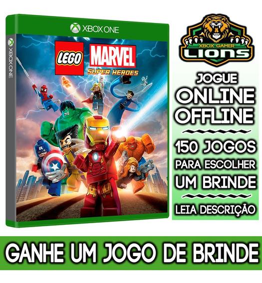 Lego Marvel Super Heroes 1 Xbox One + Brinde