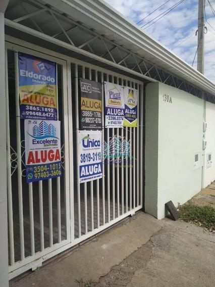 Casa Com 2 Dormitórios Para Alugar, 80 M² Por R$ 1.100/mês - Loteamento Remanso Campineiro - Hortolândia/sp - Ca0671