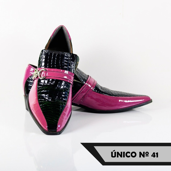 Sapatos Masculinos Social Bico Fino