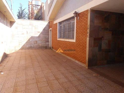 Casa Com 4 Dormitórios Para Alugar, 164 M² Por R$ 4.500/mês - Jardim Irajá - Ribeirão Preto/sp - Ca2436