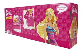 Pileta De Lona Reforzada De Barbie Para Nena Disney Unibike