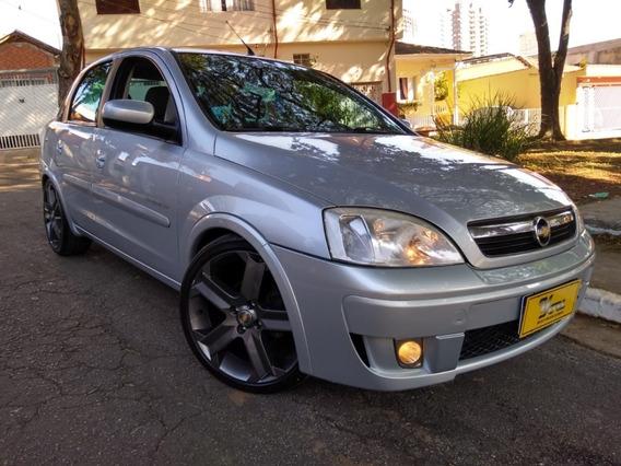 Gm Corsa Sd Premium 1.4 Flex 2009 Prata Completo EquiPadão!!