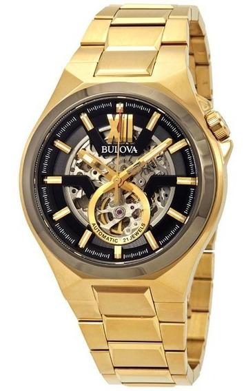 Relógio Bulova Masculino Classic Automatic Black Original