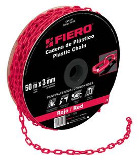 Cadena De Plástico De 3mm Blanca Fiero 44161 Envío Gratis