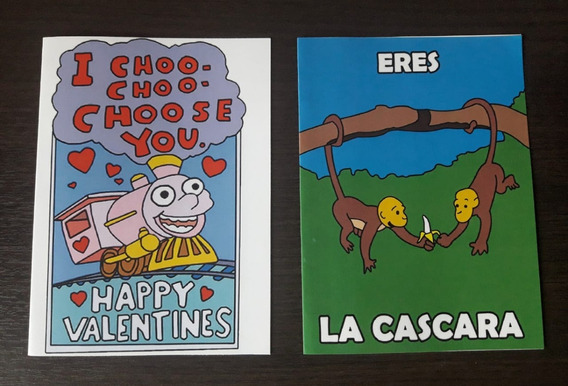Tarjetas Para San Valentín Los Simpsons