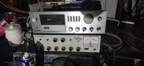 Amplificador Gradiente 246 Som Vintage Com 4 Caixas Sony.