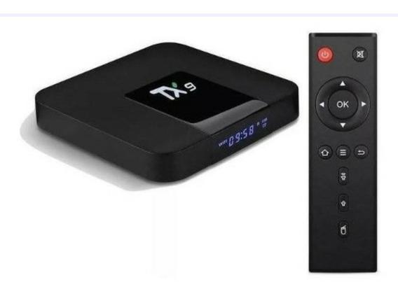 Super Tv Box Tx9 + Brinde App De Tv Pro Sem Mensalidade