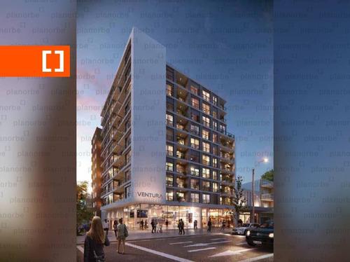 Venta De Apartamento Obra Construcción 1 Dormitorio En La Blanqueada, Ventura Tres Cruces Ii B Unidad 302